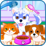Puppy & kitty salon for PC