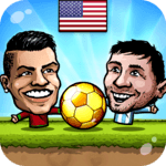 ⚽Puppet Soccer 2014 - Big Head Football 🏆 for PC