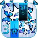 Blue Butterfly Piano Tiles 2019 for PC