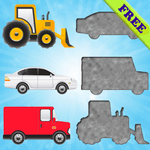 Vehicles Puzzles for Toddlers! for PC