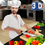 Virtual Chef Cooking Game 3D: Super Chef Kitchen for PC