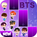 BTS Chibi Piano Tiles for PC