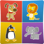 Animals memory game for kids for PC