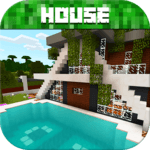 Modern House for Minecraft PE for PC