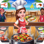 Super Chef Beach Bbq Kitchen Story Cooking Games for PC