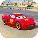 Splashy Superhero Vertigo racing : lightning car for PC