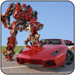 Muscle Car Robot Transformation Game 2018 for PC