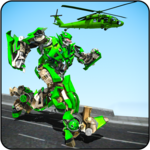 Helicopter Robot Transformation Game 2018 for PC