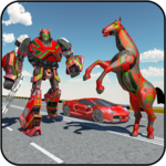 Car Robot Transformation Game - Horse Robot Rage for PC