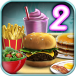 Burger Shop 2 – Crazy Cooking Game with Robots for PC