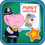 Kids Policeman games: Hippo Detective for PC