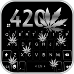 Metal Weed 420 Keyboard Theme for PC