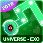 EXO Dancing Line: KPOP Music Dance Line Tiles Game for PC