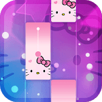 Magic Cat Piano Tiles - Crazy Tiles Kitty Sound for PC