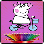 Coloring Peepa Book for PC
