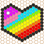 Mosaic Puzzles Art Game - Block Beads & Hex Puzzle for PC
