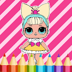 Dolls Coloring Book for PC