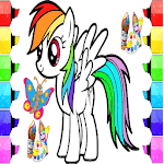 coloring horse pony for PC