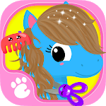 Cute & Tiny Horses - Baby Pony Care & Hair Salon for PC