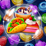 Food POP : puzzle World for PC