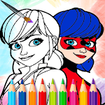 Ladybug coloring book for Miraculous kids for PC