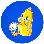 Naughty Banana Stickers for WhatsApp for PC