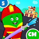 My Monster Town - Fire Station Games for Kids for PC