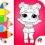 Dolls Coloring pages - lol surprise for PC
