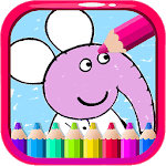 Coloring Pepa Book Cartoon Art - Painting Game for PC