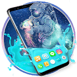Gravity Astronaut Themes HD Wallpapers 3D icons for PC
