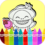 Baby Shark coloring book for PC