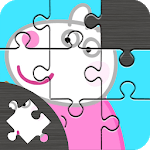 Puzzle Pepa Jigsaw Pig game for PC