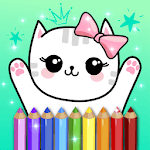 Coloring Pages Kids Games with Animation Effects for PC