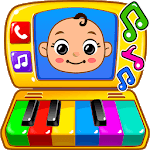 Baby Games - Piano, Baby Phone, First Words for PC