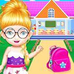 School Decorating Doll House Town My HomePlay Game for PC
