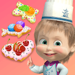 Masha and the Bear Child Games: Cooking Cookie for PC