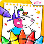 Peppo Pig Coloring Book for PC