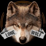 Lone Wolf Wallpaper and Custom Keyboard for PC