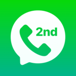2nd Line: Second Phone Number for Texts & Calls for PC
