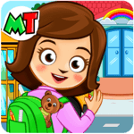 My Town: Preschool Game - Learn & Fun at School for PC